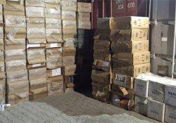Van'da çok sayıda gümrük kaçağı sigara yakalandı