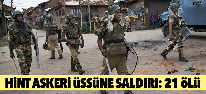 Hint askeri üssüne yapılan saldırıda 21 kişi öldü