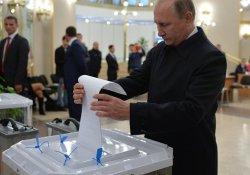 Putin: Kime oy verdiğimi bilmiyor musunuz?