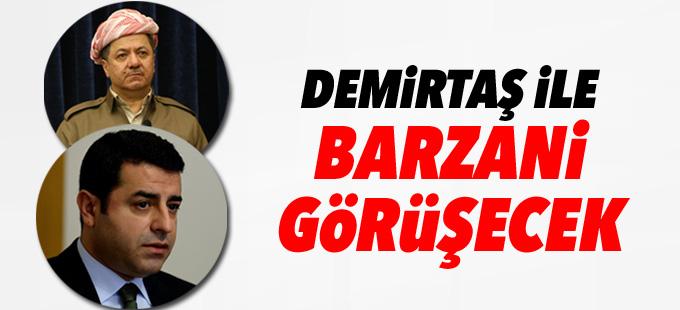 Demirtaş, Barzani ile görüşecek