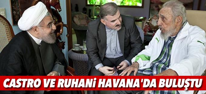 Castro ve Ruhani Havana'da buluştu