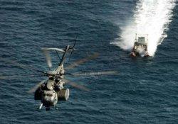Ege'de Yunan helikopteri düştü