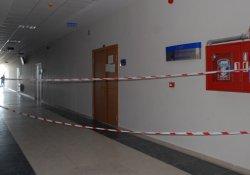 Burdur'da ders sırasında tavan çöktü: 5 yaralı