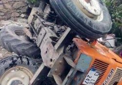 Kütahya'da traktör devrildi: 2 ölü, 2 yaralı