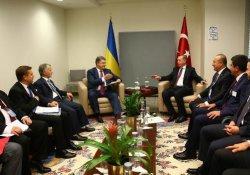 Erdoğan, liderlerle görüştü