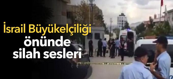 İsrail Büyükelçiliği önünde silah sesleri: Bir kişi vurularak yakalandı