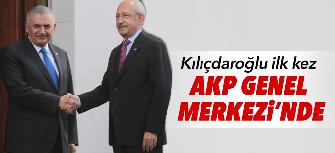 Başbakan ile CHP lideri görüştü