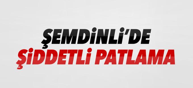 Şemdinli'de zırhlı aracın geçişi esnasında patlama