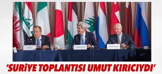 De Mistura: Suriye toplantısı uzun, acılı ve umut kırıcıydı