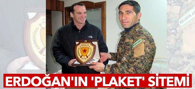 Erdoğan'dan Obama'nın özel temsilcisi McGurk'a 'plaket sitemi': Bir daha yapma