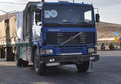Sınırda bekleyen BM TIR'ları İdlib'e hareket etti