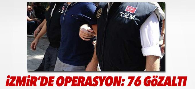 İzmir Adliyesi'nde 76 gözaltı