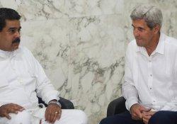 Kerry ve Maduro ilk kez görüştü