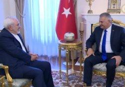 Başbakan Yıldırım, İran Dışişleri Bakanı Cevad Zarif'i kabul etti