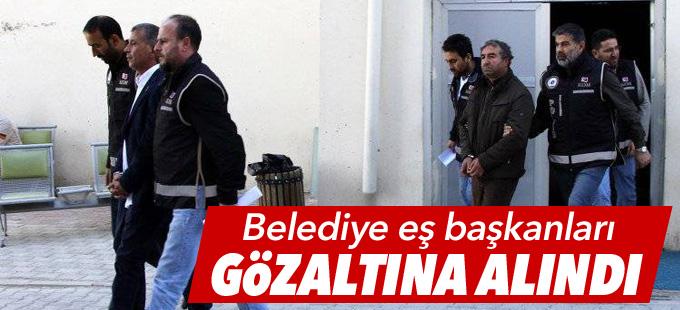 Karakoçan Belediye Eş Başkanları gözaltına alındı