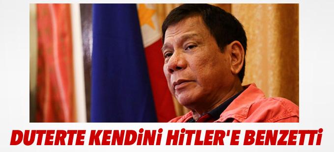 Duterte kendini Hitler'e benzetti
