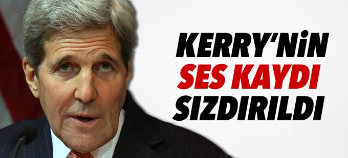 NYT, Kerry'nin ses kaydını sızdırdı