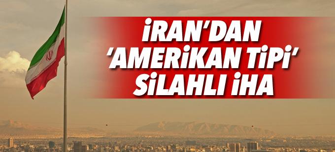 İran'dan 'Amerikan tipi' silahlı İHA
