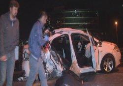 E-5 Karayolu'nda Feci Kaza : 1 Ölü, 4 Yaralı