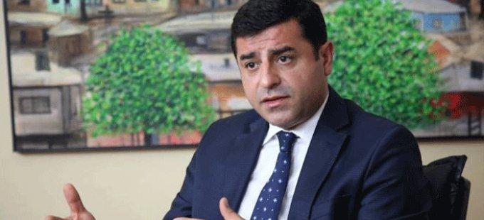 Demirtaş, HDP'nin Erbil'den Avrupa'ya uzanan temaslarını anlattı