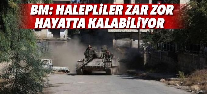 BM: Halepliler zar zor hayatta kalabiliyor