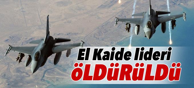 El Kaide lideri öldürüldü