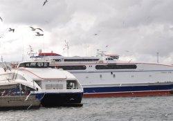 Bandırma-Yenikapı seferleri iptal edildi