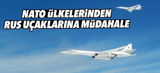 Dört Nato ülkesi, Rus uçaklarına müdahale etti