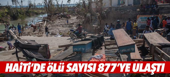 Haiti'de ölü sayısı 877'ye ulaştı