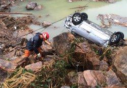 Çin'de heyelanda hayatını kaybedenlerin sayısı 18'e yükseldi