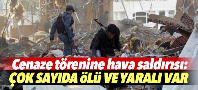 Cenaze törenine hava saldırısı: 140 ölü