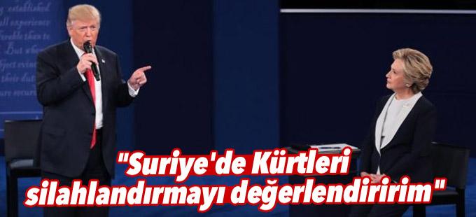 """""""Suriye'de Kürtleri silahlandırmayı değerlendiririm"""""""