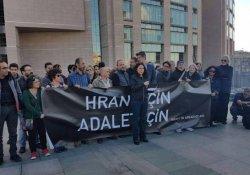 İşsiz gazeteciler Hrant için adliyede