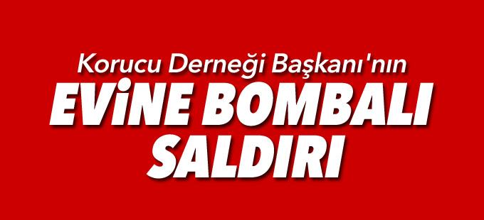 Şemdinli'de Korucu Derneği Başkanı'nın evine bombalı saldırı