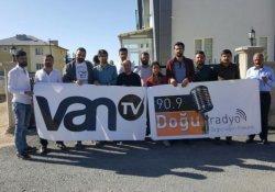 VAN TV Muhabiri Elçi: Mesleğimiz İçin Nöbetteyiz