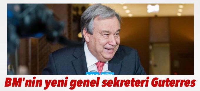 BM'nin yeni genel sekreteri Antonio Guterres