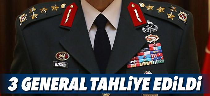 3 generale tahliye