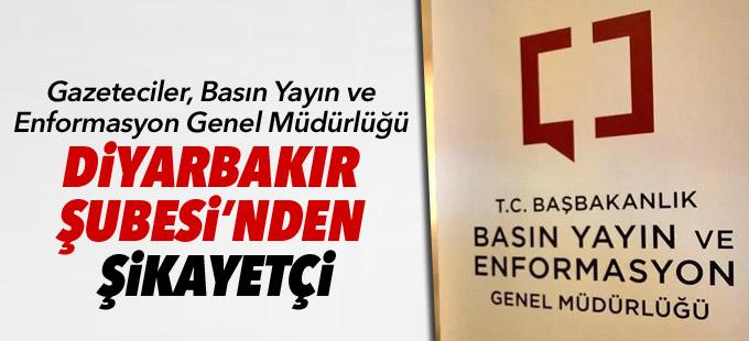 Basın Yayın ve Enformasyon Genel Müdürlüğü Diyarbakır Şubesi dalga mı geçiyor?