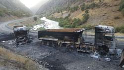 TIR'ları yakılan firmadan ikinci açıklama