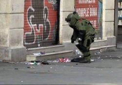 İstiklal Caddesi'nde şüpheli çanta paniği