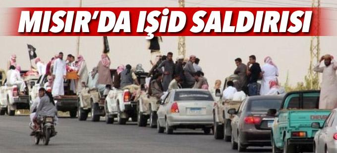 'IŞİD' Mısır'da 12 askeri öldürdü