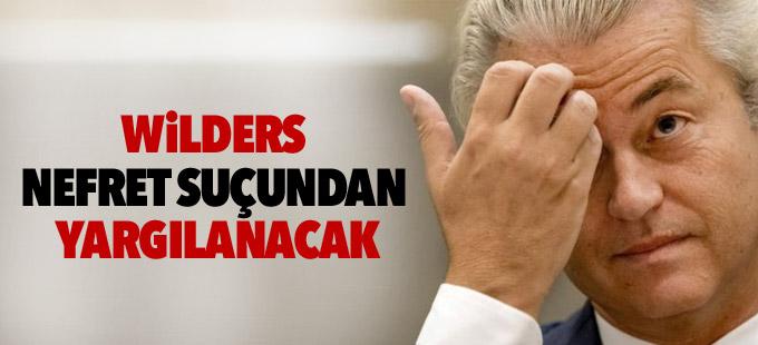 Wilders nefret suçundan yargılanacak