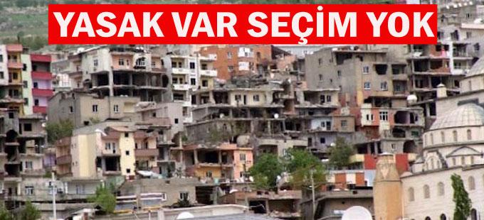 Şırnak'ta yasak var baro seçimi yok