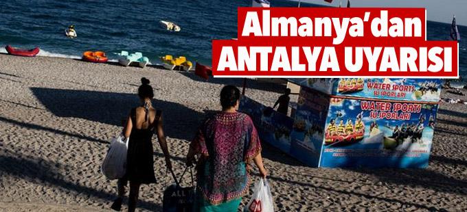 Almanya Dışişleri Bakanlığı'ndan Antalya uyarısı