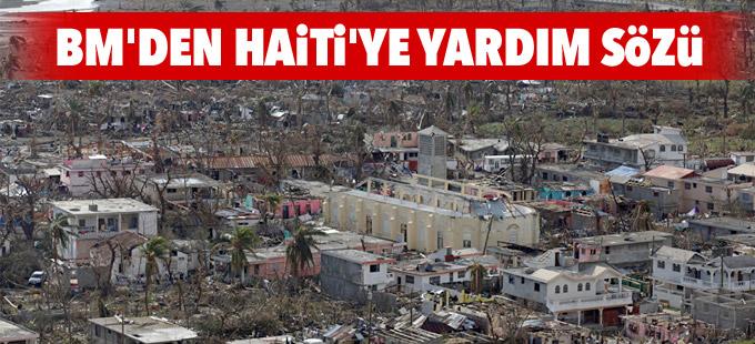 BM'den, Matthew Kasırgası'nın vurduğu Haiti'ye yardım sözü