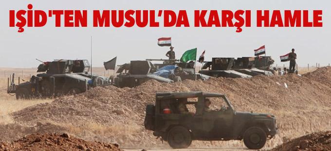 IŞİD'ten Musul operasyonu için karşı hamle