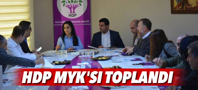 HDP MYK'sı toplandı