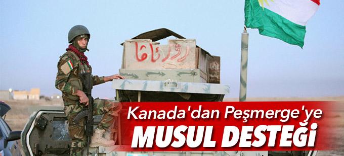 Kanada'dan Peşmerge'ye Musul desteği
