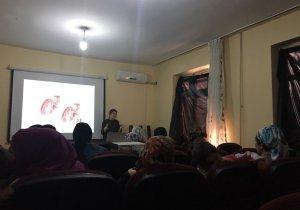 Çukurca'da kadınlara seminer