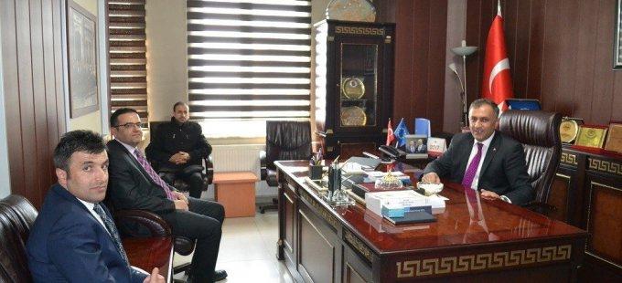 İş-Kur İl Müdürü Kızılkaya'dan Yüksekova'ya ziyaret